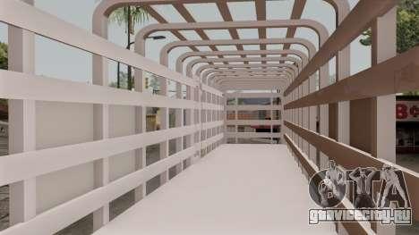 Trailer Rejas Gas для GTA San Andreas вид сзади