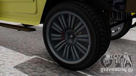 GTA 5 Patriot Dirt для GTA San Andreas вид сзади слева