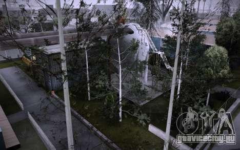 Стройка на Grove Street v0.1 Beta для GTA San Andreas восьмой скриншот