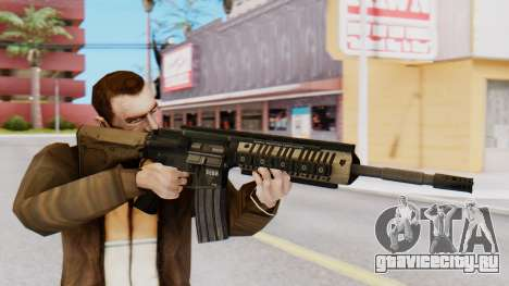 M4A1 Magpul для GTA San Andreas третий скриншот