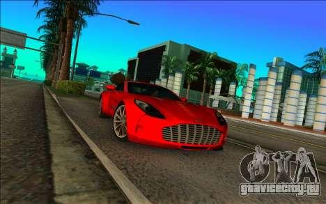 Астон Мартин Один-77 для GTA Vice City