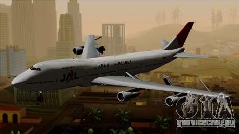 Boeing 747 JAL для GTA San Andreas