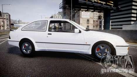Ford Sierra RS500 Cosworth для GTA 4 вид слева