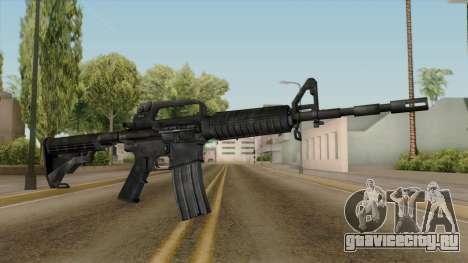 Original HD M4 для GTA San Andreas