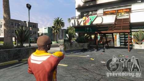 Asiimov Pistol.50 для GTA 5 третий скриншот