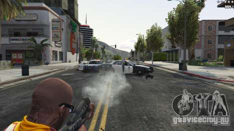M-8 Avenger из Mass Effect 2 для GTA 5 восьмой скриншот