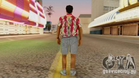 Турист для GTA San Andreas третий скриншот