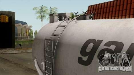 Trailer Kotte Garant для GTA San Andreas вид изнутри