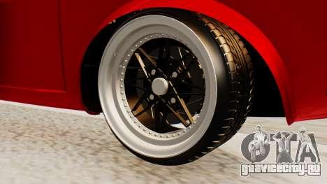Dacia 1300 GFB v2 для GTA San Andreas вид сзади слева