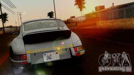 Porsche 911 Carrera RS 2.7 Sport (911) 1972 HQLM для GTA San Andreas вид сзади слева