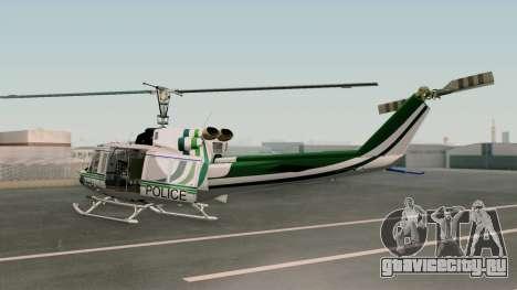 Bell UH-1N NAJA для GTA San Andreas вид слева