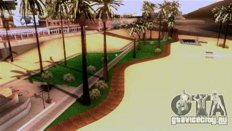 Новый пляж в Лос Сантосе для GTA San Andreas