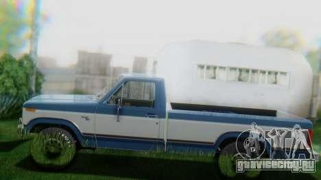 Ford F-150 1984 Final для GTA San Andreas вид сбоку