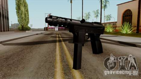 Original HD Tec9 для GTA San Andreas