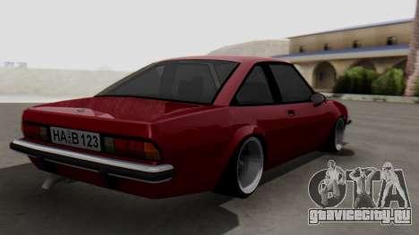 Opel Manta B1 для GTA San Andreas вид слева
