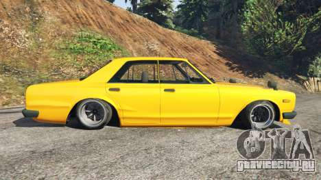 Nissan Skyline 2000 GT-R 1970 v0.3 [Beta] для GTA 5 вид слева