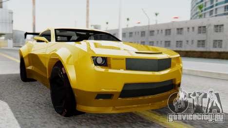 Chevrolet Camaro GT для GTA San Andreas
