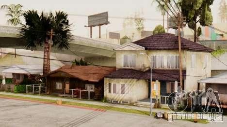 HD Grove Street для GTA San Andreas четвёртый скриншот