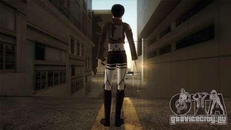 Eren Jaeger для GTA San Andreas третий скриншот