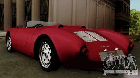 Porsche 550A Spyder 1956 для GTA San Andreas вид слева