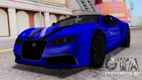 GTA 5 Truffade Adder Convertible для GTA San Andreas