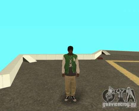 Новый парень на районе Грув Стрит для GTA San Andreas