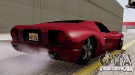 Bullet Al_Piso для GTA San Andreas вид слева