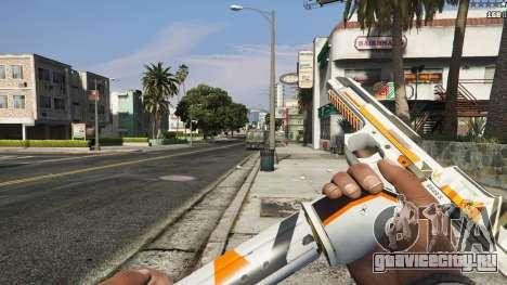 Asiimov Pistol.50 для GTA 5 седьмой скриншот