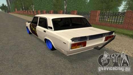ВАЗ 2105 БК v2.0 для GTA San Andreas вид справа