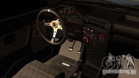 BMW M3 E30 Cabrio для GTA San Andreas вид справа