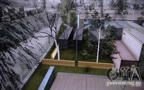 Стройка на Grove Street v0.1 Beta для GTA San Andreas девятый скриншот