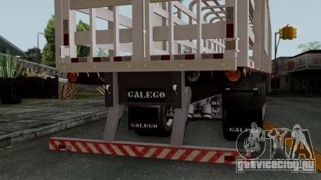 Trailer Rejas Gas для GTA San Andreas вид справа