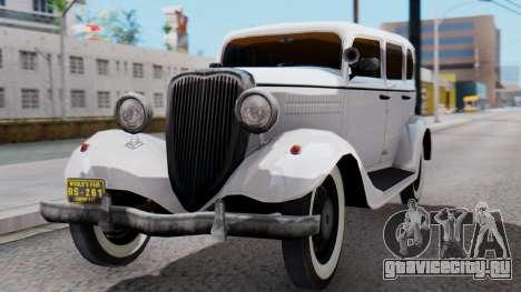 Smith V8 from Mafia 2 для GTA San Andreas