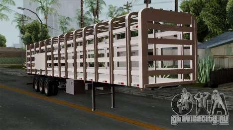 Trailer Rejas Gas для GTA San Andreas