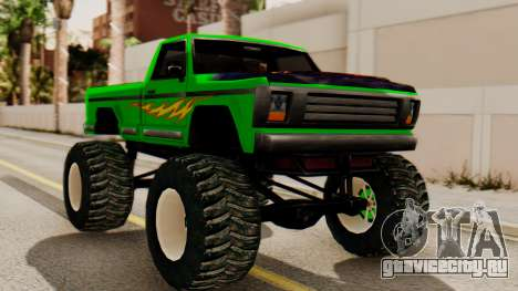 Monster New Texture для GTA San Andreas