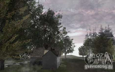 Деревья из WarFace для GTA San Andreas