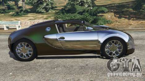 Bugatti Veyron Grand Sport v3.0 для GTA 5 вид слева