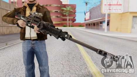Sniper Rifle 8x Scope для GTA San Andreas второй скриншот