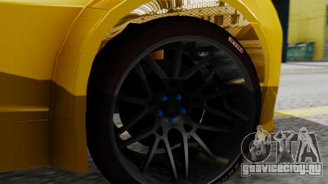 Chevrolet Camaro GT для GTA San Andreas вид сзади слева