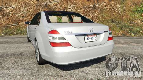 Mercedes-Benz S500 W221 v0.3 [Alpha] для GTA 5