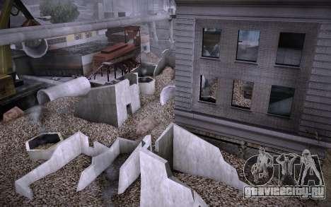 Стройка на Grove Street v0.1 Beta для GTA San Andreas седьмой скриншот