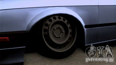 BMW M3 E30 Cabrio для GTA San Andreas вид сзади слева
