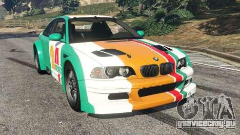 BMW M3 GTR E46 PJ3 для GTA 5