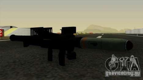 Homing Rocket Launcher для GTA San Andreas второй скриншот