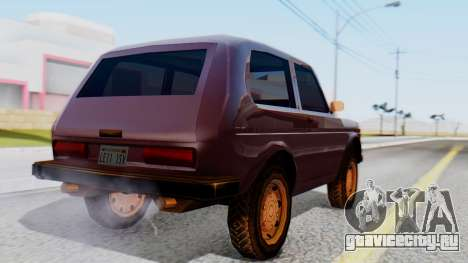 ВАЗ 2121 Нива SA Style для GTA San Andreas вид слева