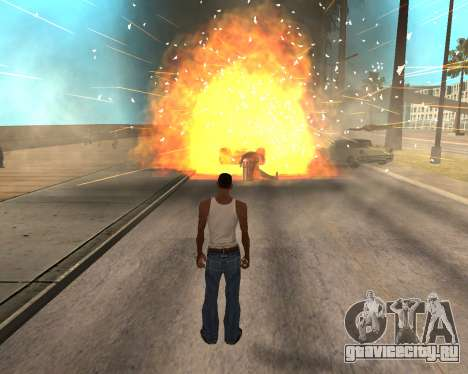 HQ Effects and Sun Final Version для GTA San Andreas пятый скриншот