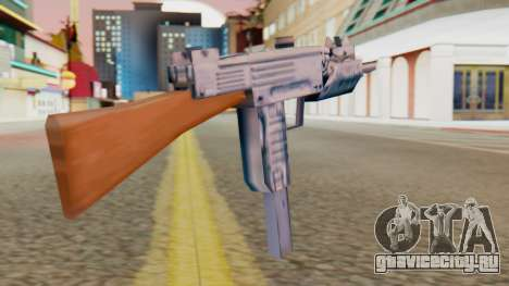 IMI Uzi v2 SA Style для GTA San Andreas второй скриншот