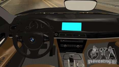 BMW 750Li 2012 для GTA San Andreas вид справа