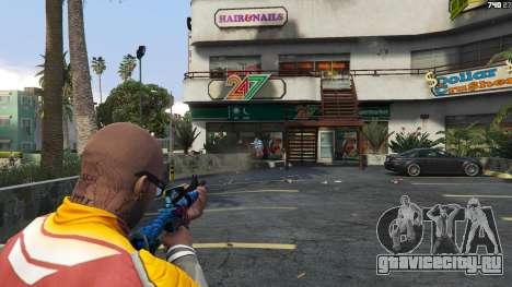 Hyper Beast Edition: M4A1-S для GTA 5 третий скриншот