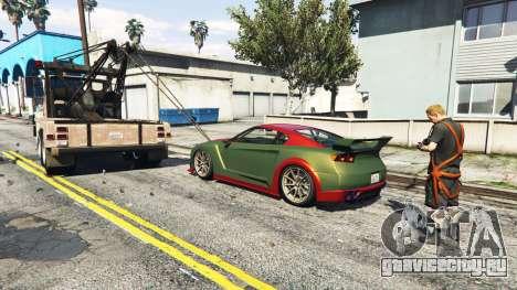 Вызов эвакуатора v1.3 для GTA 5 третий скриншот